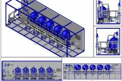 Проект компоновки станции